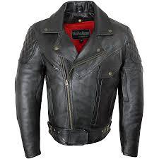 men s rida tec elite leather jacket