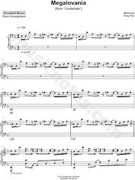 Use your computer keyboard to play megalovania (undertale) on virtual piano. Megalovania Piano Sheet Music Easy