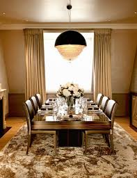 Elegant Dining Room Designs By Top Interior Designers - Faux leather dining room chairs