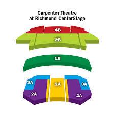 The Carpenter Center Richmond Va Seating Chart Richmond Carpenter Center Seating Related Keywords