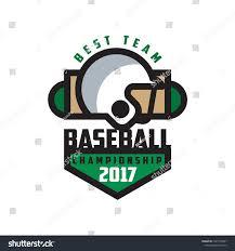 Baseball Championship 2017 Best Team Logo Royalty Free