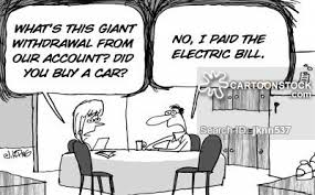 Image result for Electricity is money cartoon