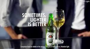 Alcohol In Heineken Vs Heineken Light Heineken Pulls Lighter Is Better Ad Dubbed Racist By