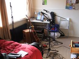 Charming Bedroom Recording Studio In Zalfahomedesign