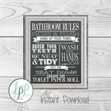 Best Vintage Bathroom Wall Art Products on Wanelo