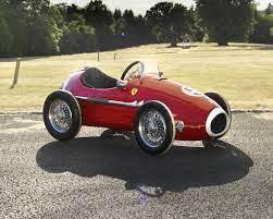 A Grand Prix Ferrari Pedal Car By Giordani Italian Classic Driver Market
