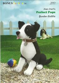 Border Collie Knitting Chart Alan Darts Perfect Pups Border Collie Sirdar Knitting