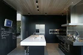 modern black kitchens. Plain Modern Modern Black Lacquer Kitchens Make A Statement With Cabinets That Amp  Up The Cool Factor Intended Black Kitchens
