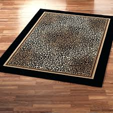 leopard print area rug large animal rugs home depot canada