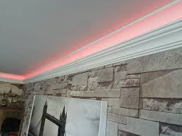 ceiling coving lighting. High Density XPS-Polystyrene Up-lighter Coving/Cornice For Led Lighting In 2m Lengths (1): Amazon.co.uk: DIY \u0026 Tools Ceiling Coving I