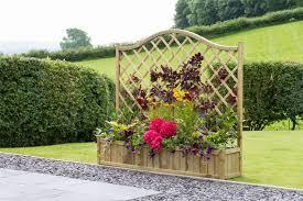 trellis planter garden