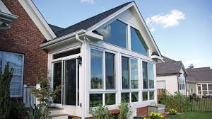 Decor Sunroom Design For Modern Home Design Plus Glass Enclosed
