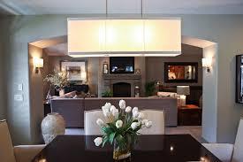 magnificent elegant rectangular dining room light rectangle in chandelier