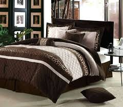 brown comforter sets image of chocolate brown and cream bedding
