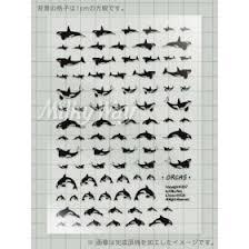 クロスステッチ図案キットかわいい忍者の1色刺しクロスステッチ図案