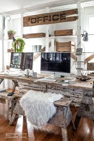 rustic office. Learn How To Stencil This Large Rustic OFFICE Sign On Reclaimed Wood, Part Of An Office H