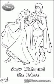 Small Picture Coloring Pages Snow White Coloring Pages For Kids Printable Free