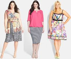 Мода лето  для полных, роскошных дам