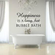 bubble bath wall art