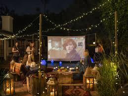 Backyard Movie Screen Rentals  Outdoor Furniture Design And IdeasMovie Backyard