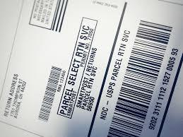 Printed Return Address Label Scandata Parcel Tms Systems Intelligent Reverse Logistic