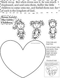 Small Picture Jesus Loves The Little Children Coloring Page esonme