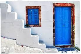 blue door house. Blue Door House