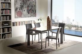 Ausziehbarer Tisch Aus Metall Und Glas Für Esszimmer