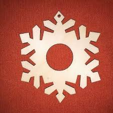 Home, Furniture & DIY 10 x SNOWFLAKE <b>n6</b>-10cm plain ...