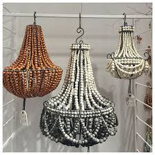 hand rolled clay beaded chandeliers by ooow handmade a south african socially responsible company at