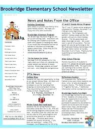 Cool Newsletter Template Brillant Me