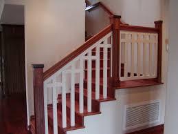 interior railing kit interior wood railing inspiration building wood stair railing