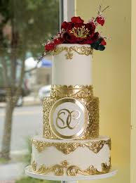 Gold Wedding Cake By Modwedding Amazing Cake Ideas
