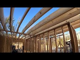 ceiling joist layout and gable roofs