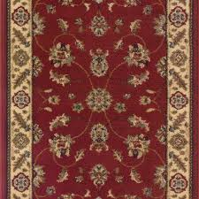 this review is from stratford kazmir red 26 in x your choice length stair runner