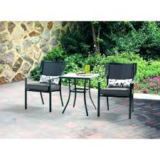 bistro set clearance patio patio bistro set mainstays square outdoor grey leaves 3 piece chairs table bistro set clearance