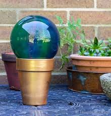 tabletop gazing ball
