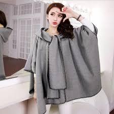 2018 2016 fashion designer winter coats women korean autumn spring retro cloak woolen coats long shawl cape camel coat wool female outerwear from cnaonist