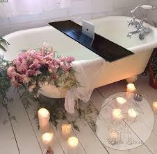 Bathtub Tray Wood Bathtub Caddy Rustic Bathtub Tray Tablets Ipad