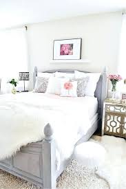 rose gold and white bedroom – shoplaude