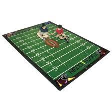 s football area rug turf s football area rug dallas cowboys field