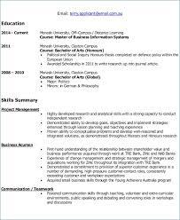 Resume Format Examples   Artemushka.com