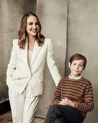 natalie portman wearing white pantsuit 2019