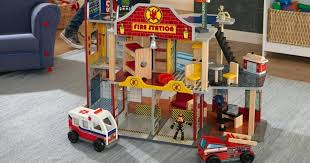 deluxe fire rescue set only shipped regularly kidkraft station fire station set kidkraft deluxe