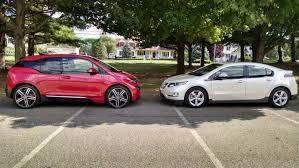 The Electric BMW i3: BMW i3 REx vs Chevy Volt: My Take