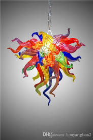 lr375 contemporary multi colored glass ceiling light 100 hand blown intended for multi colored pendant lights