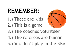 Image result for saying for kids basketball games