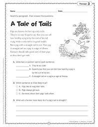 Worksheets. Comprehension Grade 2. Opossumsoft Worksheets and ...