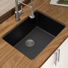 Kitchen  Good Looking Granite Undermount Kitchen Sinks Quartz 25 25 Undermount Kitchen Sink