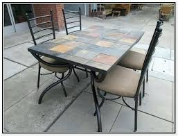 Tile Top Patio Table Big Lots Furniture On Heater With Luxury